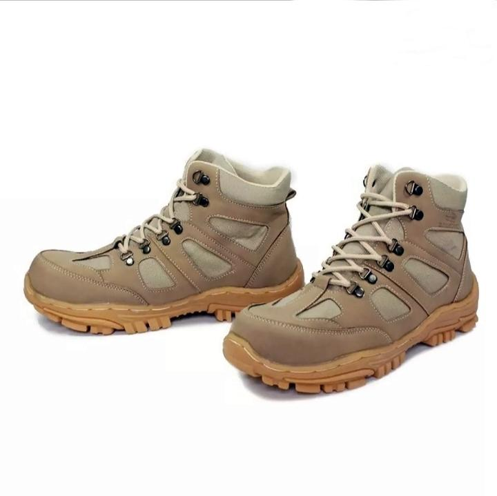 sepatu boots pria safety shoes ujung besi kickers tartargen warna krem  english shoes Raindoz Rli 007 d9dc290328