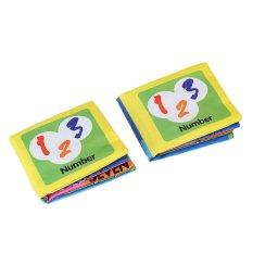 2 Pcs Multicolor Baby Balita Kids Digital Belajar Kain Kognitif Buku Prasekolah By Etfshop.