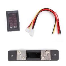 Beli 100 V 50A Merah Biru Digital Voltmeter Ammeter 2In1 Dc Volt Amp Meter W Shunt Intl Pakai Kartu Kredit