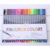 Ulasan 4 Mm 24 Fineliner Pens Color Fineliners Set Markers Art Painting Sale Multicolor Intl