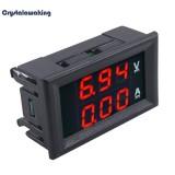 Harga 56In Dc 100 V 10A Dual Led Digital Voltmeter Ammeter Volt Amp Meter Internasional Vakind Original