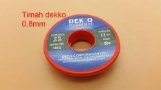 Toko 8 Mm Timah Solder Dekko 50 Gram Murah Dki Jakarta