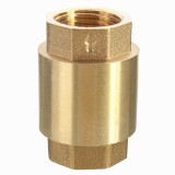 Situs Review 1 2 Npt Brass In Line Spring Vertical Check Valve Copper Control Tool 200Wog Intl
