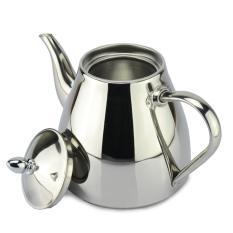 Beli 1 2 Liter Stainless Steel Pot Teh Dan Kopi Tetes Ketel Panci Teko Dengan Saringan Stainless Steel Ketel Air Panas Untuk Barista Menyajikan Pakai Kartu Kredit