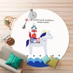 Beli 1 2 M Diameter Round Karpet Flanel Kartun Rugs Home Decor Pony Intl Kredit Tiongkok