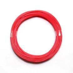 1.75mm Cetak Filament ABS Modeling Stereoscopic untuk 3D Pena Printer Merah