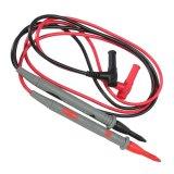 Spesifikasi 1 Pasang 1000 V 20 Amp Universal Pisang Multimeter Kabel Tes Penyelidikan Mengarah Terbaru