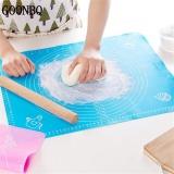 Jual 1 Pc 50 40 Cm Pastry Baking Mat Silicone Non Stick Pad Table Grill Pad Melampirkan Skala Kneading Adonan Mat Rolling Pastry Mat Intl Termurah