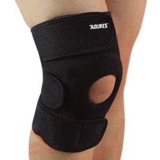 1 Pcs Ukuran Bebas Elastis Brace Pengunjung Adjustable Patella Lutut Bantalan Lutut Penopang Brace Keselamatan Guard Tali For Keselamatan Kerja Olahraga By Guasslee.