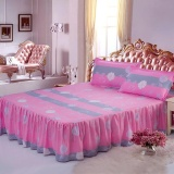 Ulasan Mengenai 1 Piece Soft Bed Rok Bedspreads Mattress Protective Cover Anti Slip Bed Rok Dilengkapi Tempat Tidur Dan Seprai Linen Rok Bed Lembar Rumah Hotel Dekorasi 120X200 Cm Intl
