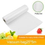 Spesifikasi 1 Roll Vacuum Segar Keeping Bag Sealer Tas Penyimpanan Makanan Kemasan Film Bag Intl Online