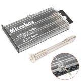 Cara Beli 1 Set Mini Micro Spiral Hand Manual Drill Chuck Twist Pin Vise Bit Jewelry Tool Intl
