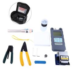 Beli 1 Set Serat Optik Alat Set Ftth Dengan Cleaver Optical Power Meter Visual Finder Intl Online Tiongkok