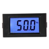 Spesifikasi 10 199 9Hz Biru Frekuensi Digital Lcd Panel Cymometer Meteran Pengukur Merk Oem