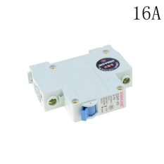 10-63A Mini Circuit Breaker DZ47-63 230-440V 1 Pole Overload Proetction Switch 16A - intl