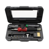Promo 10 In 1 Hs 1115 K Pengapian Elektronik Gas Soldering Iron Kit Solder Welding Intl Oem Terbaru