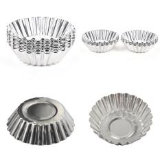 10 Pcs/lot Egg Tart Mould Cake Cupcake Liner Baking Round Cup Mold Pastry Tools - intl