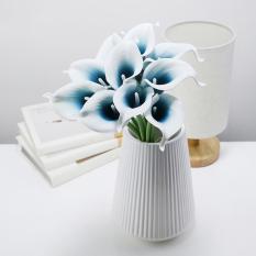 10 Pcs Real Touch Calla Lily Bouquet Faux Flowers Intl Promo Beli 1 Gratis 1