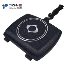 (100 brand new, delivery inspection quality) South Korea imported wheat rice stone non-stick pan, two side frying pan pan, pressure cooker frying pan - intl