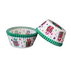 100 Pcs/lot Alat Memasak Manila Paper Cup Cake Liners Baking Cup Muffin Dapur Cupcake Case Cake Mould #3 & Hijau
