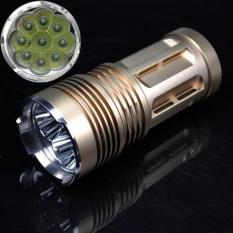 10000 LM 9x XM-L T6 LED 18650 Tactical Flashlight Torch Hunting Lamp Ligh - intl