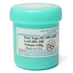 Jual 100 G Nc 559 Asm Bga Pcb Smt Ic Reballing Fluks Solder Pasta Minyak Murah Di Tiongkok