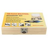 Harga 100Pc Mini Rotary Grinding Drilling Polishing Sanding Jewellery Dremel Tool Kit Intl Fullset Murah