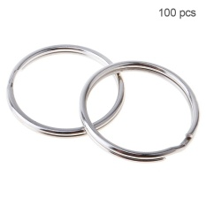 Harga 100Pcs 20Mm Diaphragm Iron Hoop Nickle Key Ring Intl Fullset Murah
