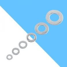 100 Pcs 304 Stainless Steel Metrik Flat Tahan Lama Mesin Cuci Screw Repair Kit Alat M3/M4/M5/M6 /M8/M10 (M3) -Intl