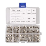 Beli 100 Pcs 5 20Mm Cepat Cepat Blow Glass Tube Fuse Assortment Kit Intl Murah