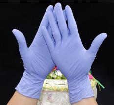 100 Pcs/box Sekali Pakai Sarung Tangan Lateks untuk Pembersihan Rumah Sekali Pakai Makanan Sarung