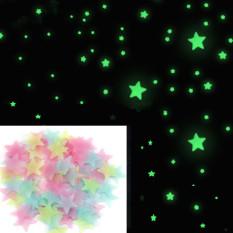 Beli 100 Buah Pack Bercahaya Stiker Dinding Bintang Rumah Bintang Menyala Dalam Gelap Album For Kamar Anak Bayi Buatan Sendiri Dinding Seni Dekorasi Rumah Stiker Internasional Oem Asli