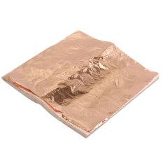 Beli 100 Pcs Lembar Daun Tembaga Alumunium Kertas 14X14 Cm Untuk Penyepuhan Kerajinan Dekorasi Online