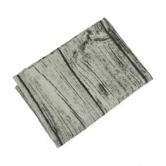 Jual 100X140 Cm Vintage Cotton Linen Taplak Meja Taplak Meja Makan Kayu Bark Desain Butiran Untuk Home Hotel Cafe Restoran Intl Tiongkok