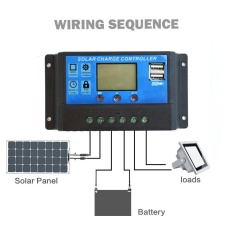 10A Pwm Lcd Display Dual Usb Solar Panel Battery Regulator Charge Controller Intl Vwinget Diskon 40