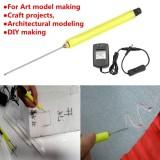 Diskon 10 Cm Styrofoam Elektrik Cutter Kawat Panas Styro Foam Diy Cutting Pen Adaptor Ac Oem Tiongkok