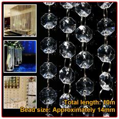 Spek 10 M Acrylic Kristal Bead Garland Piece Tirai Pernikahan Perlengkapan Partai Dekorasi Hong Kong Sar Tiongkok