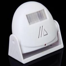 10 M Peringatan Doorbell Alarm And Cerdas Sensor Selamat Datang Ucapan ( Putih)-Intl