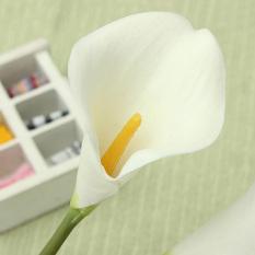 10 Buah Bikinan Getah Calla Lily Pernikahan Bunga-Bunga Buket Pengantin Dekorasi Taman Rumah