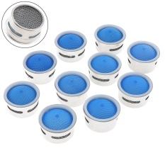 10 Pcs Tembaga 24 Inner Core Water Saving Berputar Putar Faucet Nozzle Air Filter dengan Adaptor