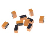 Harga 10 Pcs Dc 12 V Kumparan Shg Dpdt 8 Pin Mini Power Relay Hk19F Intl Oem Tiongkok