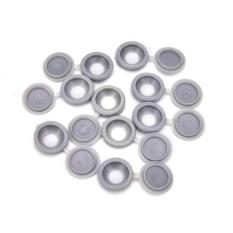 10 Pcs Berengsel Penutup Sekrup Plastik Lipat Snap Caps untuk Review Mobil Rumah Furniture Dekorasi Abu-abu-Intl