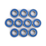 Jual 10 Pcs Mr115 2Rs Steel Double Terlindung Bantalan Bola Mini 5X11X4Mm Intl Ori
