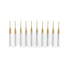 Spesifikasi 10 Pcs Titanium Coat Wolfram Karbida Akhir Pabrik Ukiran Bit Milling Cutter 3 175Mm X 1Mm Intl Bagus