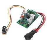 Harga Hemat 10V12V24V30V 120W Pwm Adjustable Volt Dc Motor Speed Controller Ccm2 Intl
