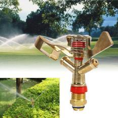 Harga 1 2 Inch Kuningan Putar Rocker Arm Water Sprinkler Nozzle Konektor Intl Seken