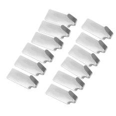 Harga 12 Buah Pintu Dinding Diri Perekat Kait Gantungan Stainless Steel Kamar Mandi Dan Dapur Oem