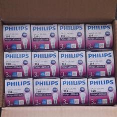 Harga 12 Pcs Led 3 Watt Bulb Phillips Lampu Led Putih Phillips Baru