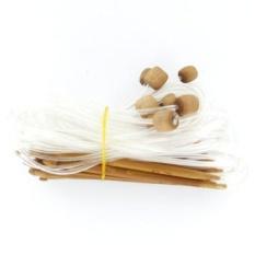 12 Ukuran Afghan Tunisia Carbonized Bambu Crochet Hooks 3.0-10.0 MM-Dengan Disatukan Kabel Plastik untuk Proyek Maksimum Fleksibilitas-Intl
