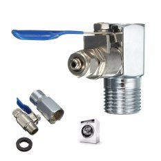 Jual 1 2 To 1 4 Ro Feed Water Adapter Ball Valve Faucet Tap Feed Reverse Osmosis Intl Oem Original